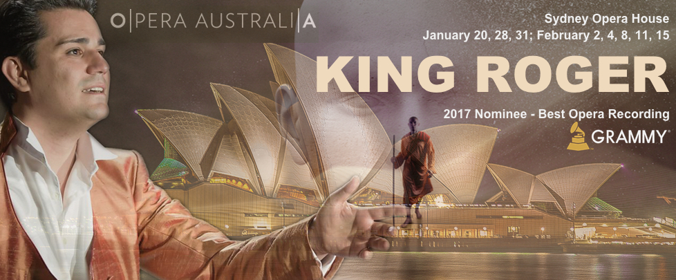 King Roger at Sydney Opera House